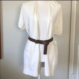 Michael kors belted cardigan xs NWT